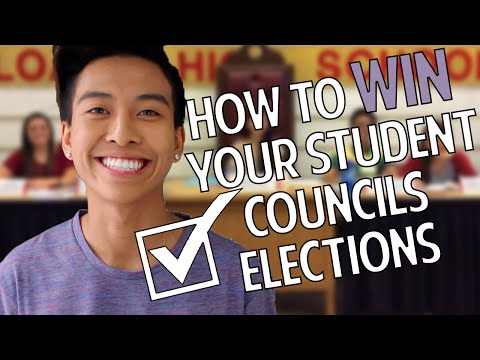 How to Win your Student Council Election