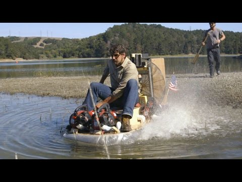 The Future Is Here: A Homemade Hovercraft