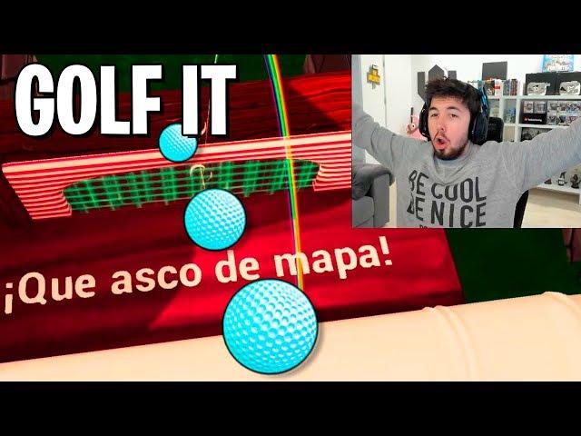GOLF IT | QUE ASCO DE MAPAAA