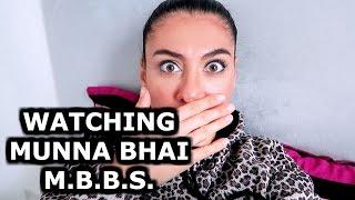 WATCHING MUNNA BHAI M.B.B.S. | INDIAN CULTURE | ROAD BACK TO INDIA | ENTERPRISEME TV