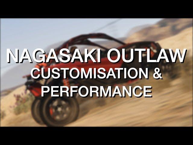 Nagasaki Outlaw • Customisation et performance • GTA Online