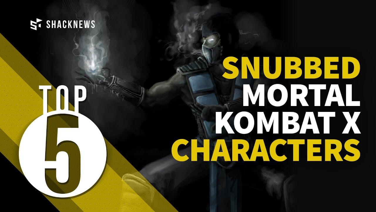 Mortal Kombat X - 5 characters that missed the cut   Shacknews