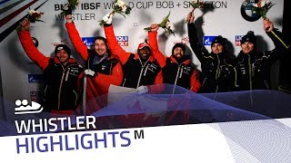 Spring leads Canada's one-two punch in Whistler   IBSF Official