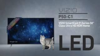 """All-New 2016  VIZIO P50-C1 SmartCast™ P-Series™ 50"""" Class Ultra HD HDR // Full Specs Review  #VIZIO"""
