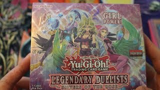 """SMW Opens a """"Legendary Duelists: Sisters of the Rose"""" Box"""