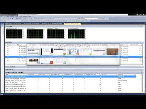 Monitoring SQL Server (overview)