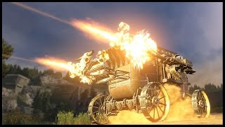 Crossout - STAGECOACH Of Doom! Wild West Build [Crossout Gameplay]