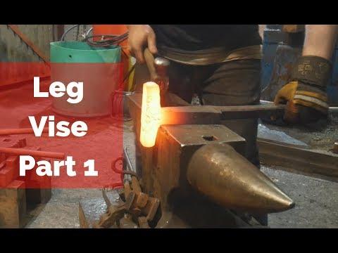 Forging a Leg Vise part1! 4000 Sub Challenge??