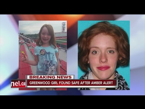 Girl at center of Greenwood Amber Alert foun safe - YouTube