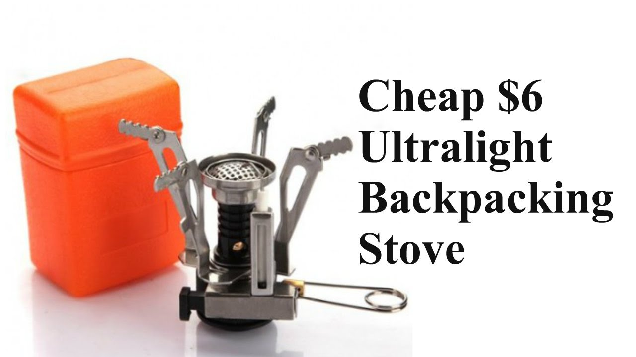 Cheap 6 Ultralight Backpacking Stove 3 9 Oz Youtube
