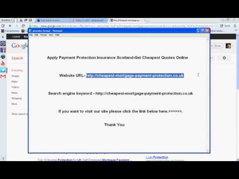 Apply Payment Protection Insurance Scotland-Get Cheapest Quotes Online