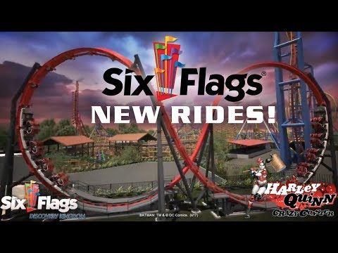 New for Six Flags in 2018 - OFFICIAL ANNOUNCEMENT VIDEO