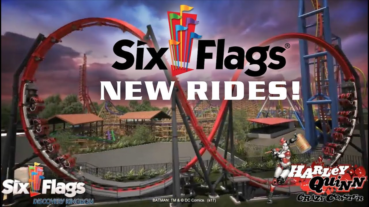 New For Six Flags In 2018 Official Announcement Video Youtube