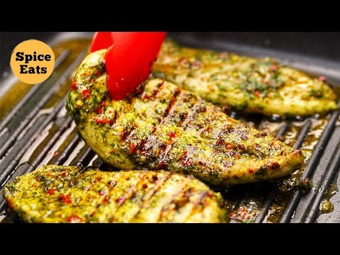 HERB GRILLED CHICKEN RECIPE | HEALTHY GRILLED CHICKEN RECIPE | EASY GRILLED CHICKEN RECIPE