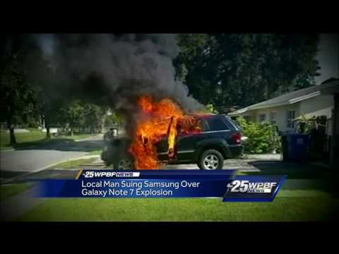 Local man suing Samsung over alleged Galaxy Note 7 explosion
