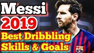 Lionel Messi 2019 - Messi Best Dribbling Skills  Goals - HD
