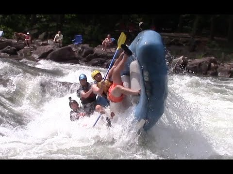 Ocoee River Whitewater Rafting Flips & Carnage Olympic Section