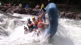 Ocoee River Rafting Flips & Carnage Olympic Section