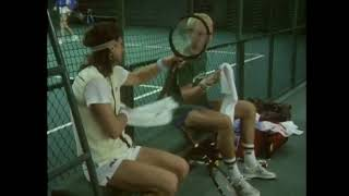 Bjorn Borg 1976 Forest Hills and Stockholm 1985