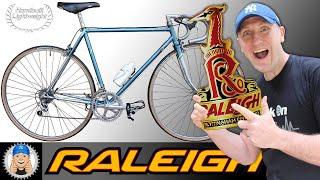 Retro Raleigh 531 Ventura Road Bike Restoration