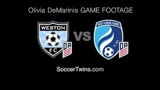 Olivia DeMarinis 03 Weston FC DA vs WFF