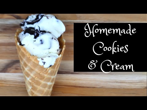 homemade-ice-cream---homemade-cookies-and-cream--kelvin's-kitchen