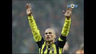 Galatasaray 1 Fenerbahçe 2 - Gol Anında Tribünler - 2010-2011 TT Arena'daki Zifaf Gecesi