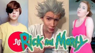 !NEW! Rick and Morty Musical.ly Cosplay Compilation 2017