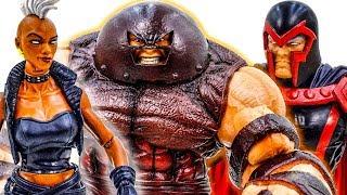 Marvel Hot Toys Collection Juggernaut Vs Storm ft Magneto~ X-Men Superheroes Toy Pretend Play