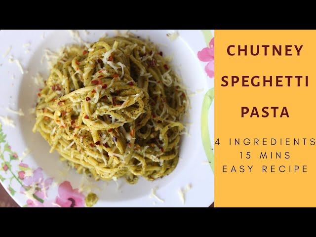 #pasta #easypastarecipe #chutney 4 Ingredients Chutney Speghetti Pasta