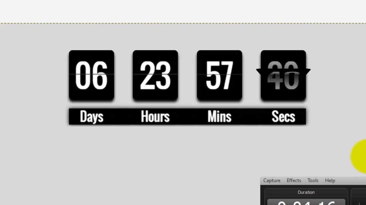 Wix my Website: How to add a Countdown Clock to my Wix ...