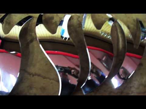 HILLYARD CUSTOM RIM&TIRE HOW TO PAINT RIMS WITH INSERTS ROCKNSTARR 565 BUSH ROCKSTARR WHEELS