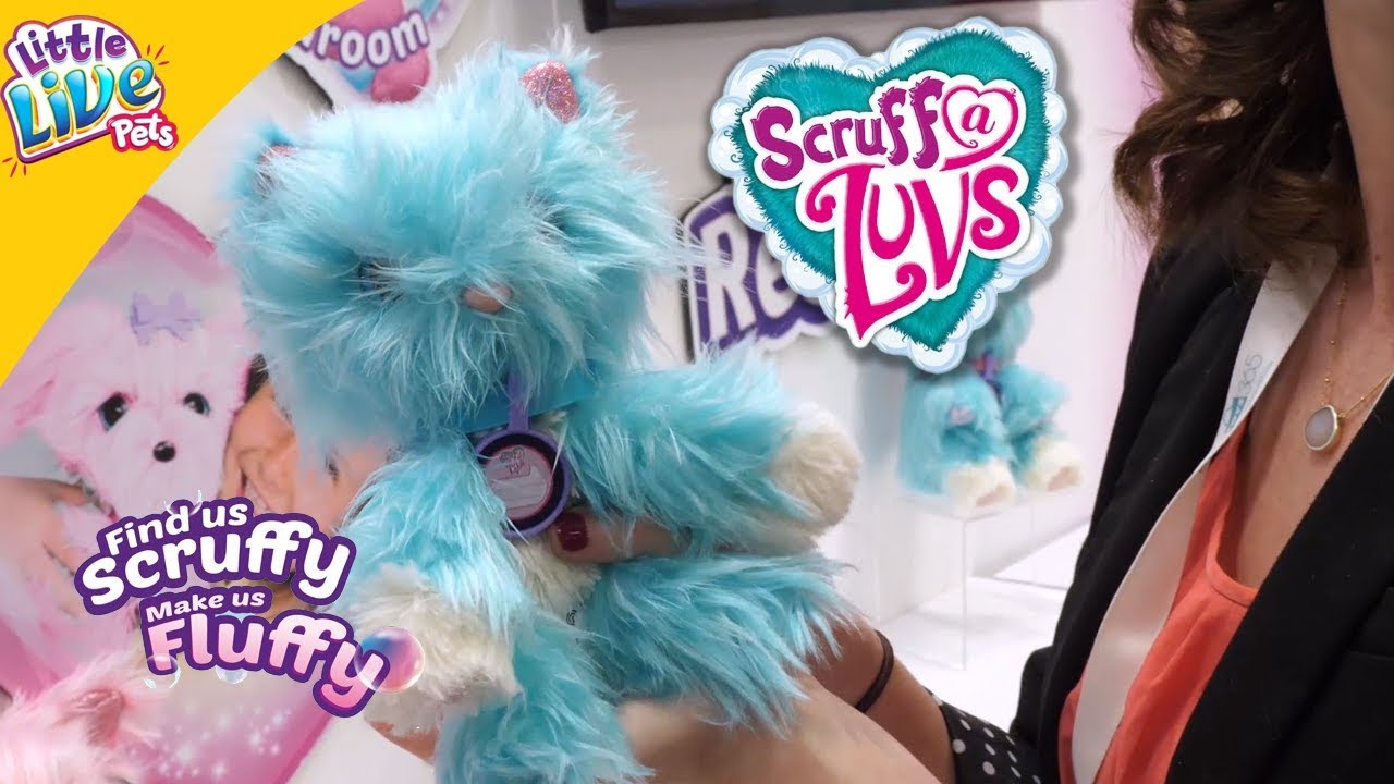 Scruff A Luvs Little Live Pets - Find Us Scruffy Make Us Fluffy