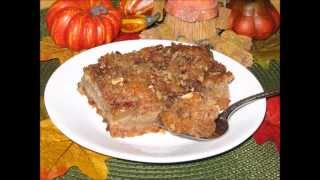 Mississippi Apple Pie Coffeecake - Gluten-free Easy From Yummee Yummee.