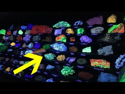 Miners Uncover A Stunning Underground Treasure Trove Full Of Bizarre Glowing Rocks