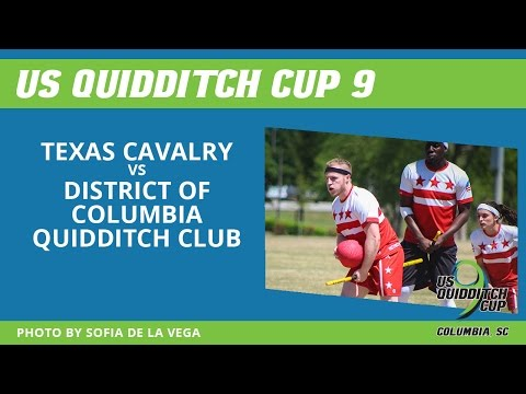 Day 1 - Texas Cavalry vs District of Columbia Quidditch Club - US Quidditch Cup 9