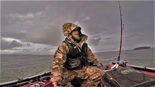 Рыбалка.Тюнинг Лодки Пвх.Эхолот.Вот это Погодка.Экстрим. Гриль в Лесу.