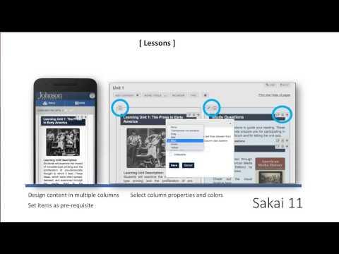 Sakai 11 New Features