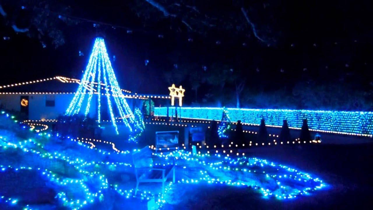 2015 Christmas Lights To Music Swedish House Mafia Greyhound  - House With Christmas Lights To Music