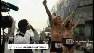 Les Femen s'invitent à Londres