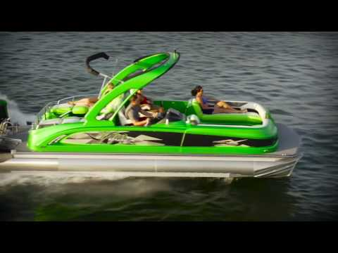 Manitou 25 X Plode XT Dual SHP Pontoon Boat