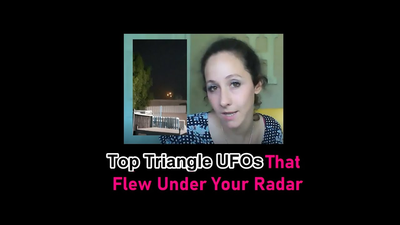 Top Triangle UFO Sightings...You've Never Heard of Before!