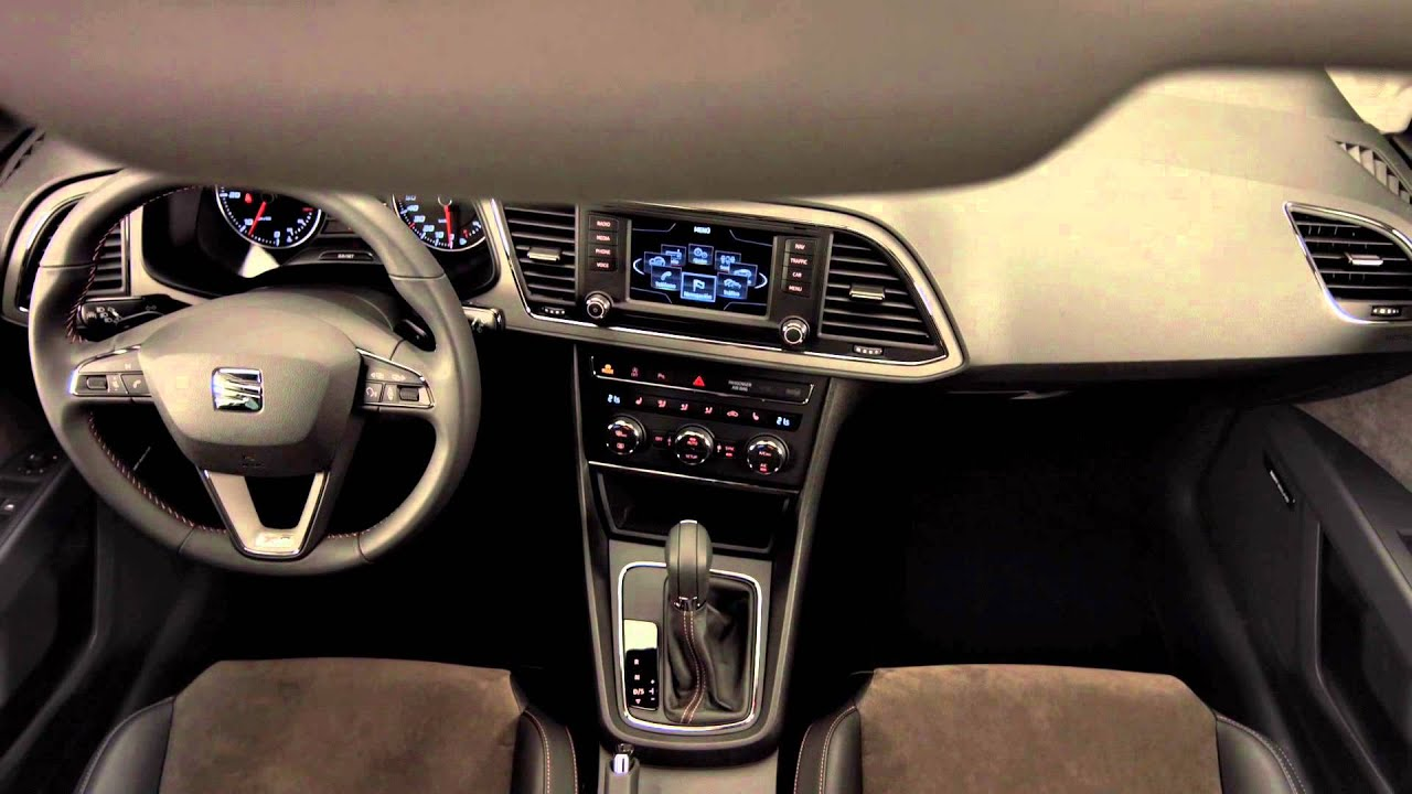 seat leon xperience interieur youtube. Black Bedroom Furniture Sets. Home Design Ideas