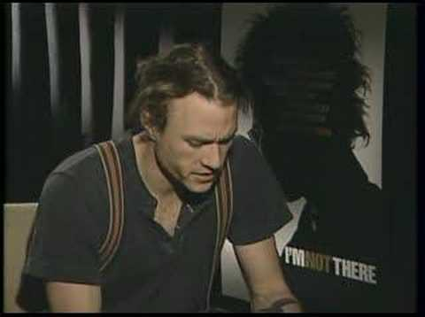 I'm Not There - Heath Ledger (Bob Dylan) 1 on 1