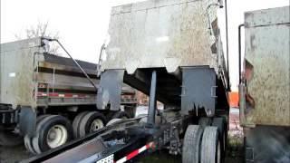 For Sale American Truck Bodies Tri Axle Dump Truck Pup Trailer 15' bidadoo.com