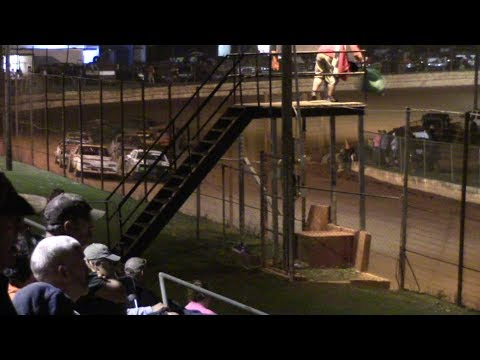 Hartwell Speedway PFC Stock Eight Cylinders Feature Race 10/14/17