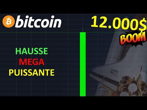 BITCOIN 12.000$ MEGA HAUSSE EN VUE !? btc analyse technique crypto monnaie