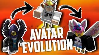 My Roblox Avatar Evolution! (epic)