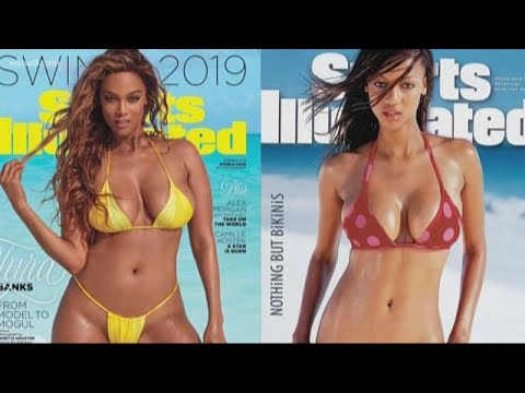 tyra banks sports illustrated cover then and now