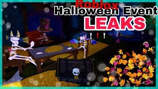 Roblox Halloween Event 2018 *Maps and Gameplay LEAKED* + MORE
